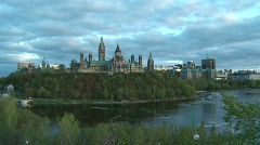 Parliament of Canada - stock footage