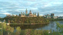 Parliament of Canada 3 - stock footage