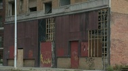 Stock Video Footage of Detroit abandoned building 13