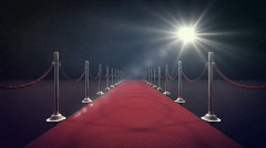 Red Carpet - stock footage