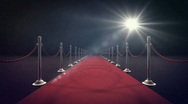Stock Video Footage of Red Carpet