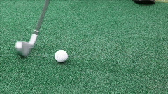 Golf driving Range Stock Footage