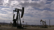 Stock Video Footage of Desert Oil Pump