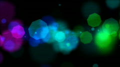 Textured particle background loop Stock Footage