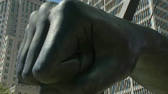 Joe Louis Fist 1 Stock Footage