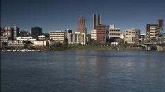 Portland skyline Stock Footage