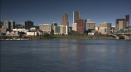 Stock Video Footage of Portland skyline