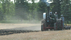 Steam Tractor - stock footage