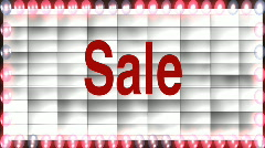 sale marquee - stock footage