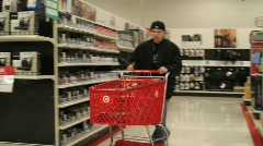 Teenagers Shopping Stock Footage