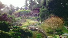 Japanese Gardens Stock Footage