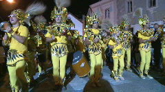 Brazilian Carnival celebration Stock Footage