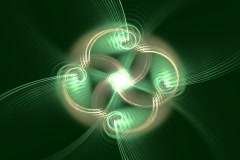 Clover spiral Stock Footage