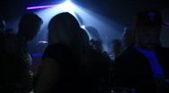 Disco bar timelapse Stock Footage