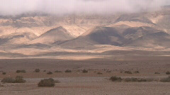 Syria cloudy mountain Stock Footage