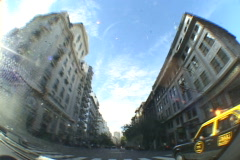 Argentina-Buenos-Aires-Driving-Downtown Stock Footage