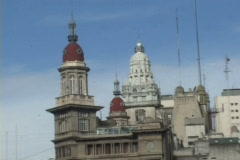 Argentina-Buenos-Aires-Historic Building Stock Footage