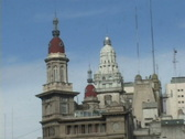 Stock Video Footage of Argentina-Buenos-Aires-Historic Building