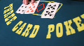 3 cardpoker 3 HD Footage