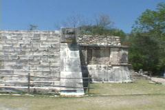 Chitzen-Itza-Yucatan-Peninsula-Mayan-Ruins-8 Stock Footage