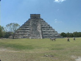 Stock Video Footage of Chitzen-Itza-Yucatan-Peninsula-Mayan-Ruins-Pyramid-13