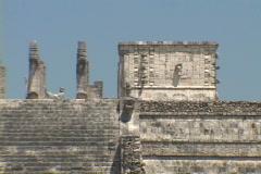 Chitzen-Itza-Yucatan-Peninsula-Mayan-Temple-2 Stock Footage
