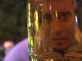 Drinking-Beer-Santiago-Chile Stock Footage