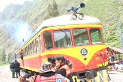 Peru-Machu-Picchu-Train-Ride-7 Stock Footage