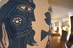Uruguay-Punta-Del-Este-Casapueblo-Hotel-28 Stock Footage