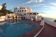 Uruguay-Punta-Del-Este-Casapueblo-Hotel-36 Stock Footage