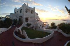 Uruguay-Punta-Del-Este-Casapueblo-Hotel-40 Stock Footage