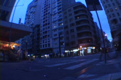 Uruguay-Punta-Del-Este-Street-Traffic-2 Stock Footage