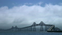 Richmond Bridge, California Stock Footage