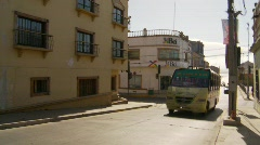 Street traffic in Coquimbo, #3 Stock Footage