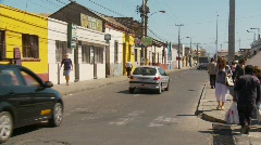 Street life, Coquimbo, Chile, #3 Stock Footage