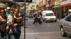 Traffic and streetlife, Coquimbo Chile, #3 Stock Footage