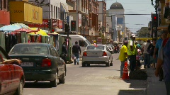 Traffic and streetlife, Coquimbo Chile, #5 Stock Footage