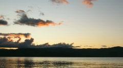 Time lapse of dramatic sunrise Stock Footage