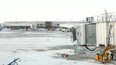 B17 Airport Terminal Stock Footage