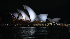 Sydney City & Opera House at Night PT22 - stock footage