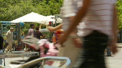 Santiago plaza streetlife, #1 Stock Footage