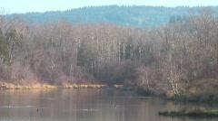 Sunset Pond 4 Stock Footage
