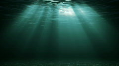 Under Water Dark Loopable - stock footage