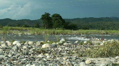 River in Manabo, Philippines #2 - stock footage