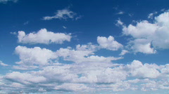 Paradise clouds - stock footage