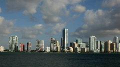 Miami - Brickel Avenue Stock Footage