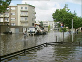 Water flood Stock Footage