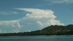 Clouds over Pagudpud - stock footage