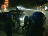 Stock Video Footage of Riots in the center of Antwerp