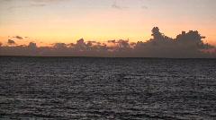 Horizon at saud beach Stock Footage